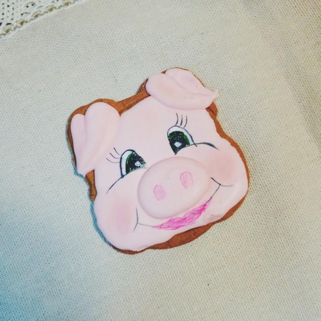 """Пряник """"Свинка"""", ручна робота"""